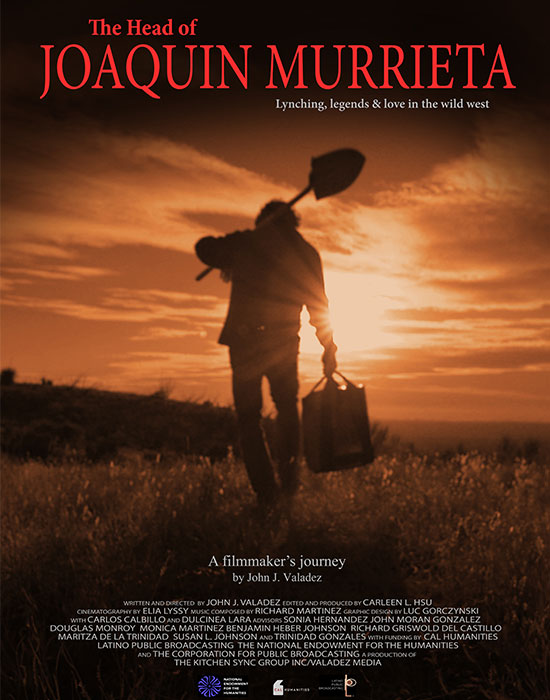 """""""The Head of Joaquin Murrieta: Lynching, legends, and love in the wild west"""" Movie Poster"""