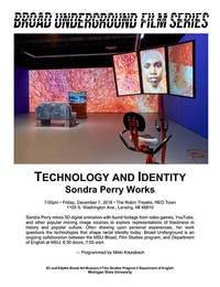 technology and identity series poster