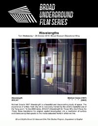 wavelengths series poster