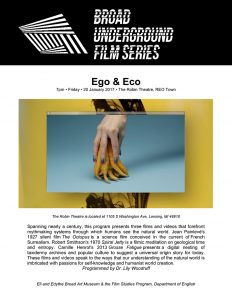 eco & ego series poster