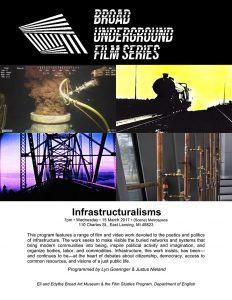 infrastructuralisms series poster