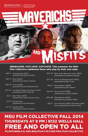 Mavericks and Misfits Film Collective poster