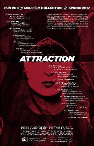 Attraction Film Collective Poster