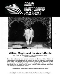 Meilies, magic, and the avant-garde series poster