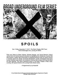 spoils series poster