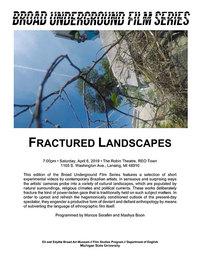 fractured landscapes poster
