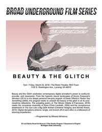 beauty and the glitch series poster
