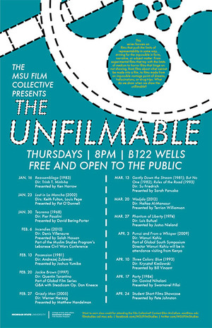 the Unfilmable film collective poster