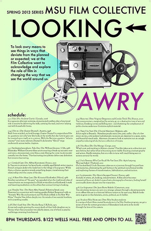 Looking Awry film collective poster