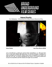 naked reality film series poster
