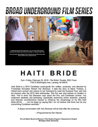 haiti bride series poster