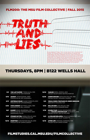 Truth and Lies film collective poster