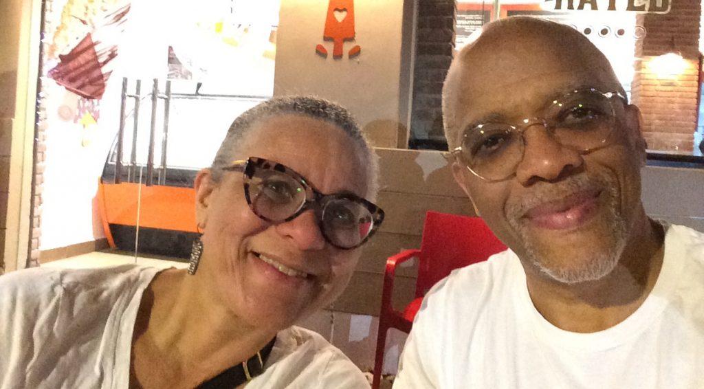 RCAH professor Tama Hamilton Wray and Film Studies professor Jeff Wray