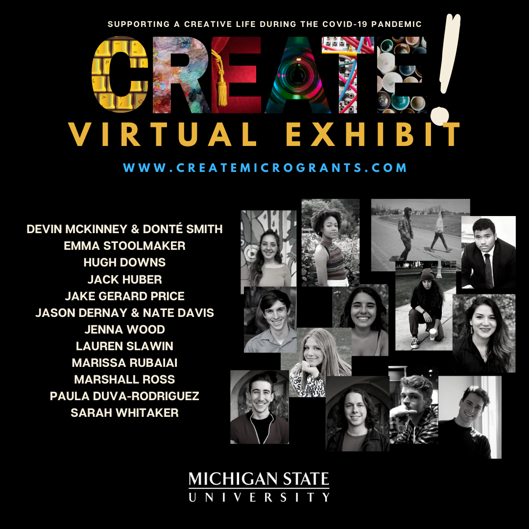 CREATE! Micro-Grant Virtual Exhibit Launches Displaying Winning Projects